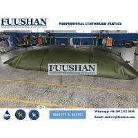 Quality Fuushan Customize Durable Folding High Capacity Water Tank with PVC Coated Material wholesale
