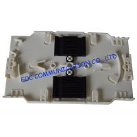 Quality 12 Slots White Fiber Optic Patch Panel For Optical Fiber Communication Networks wholesale