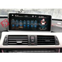 Quality Mirrorlink Android 4.4 Car Dvd Player , BMW 1 Series Sat Nav System Support IDrive wholesale