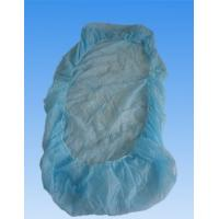 Quality Soft Plastic Disposable Bed Covers With Elastic , Water Proof And Protective wholesale