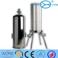Quality Stainless Steel Inox Precision Sanitary Filter Housing Flange Clamp wholesale