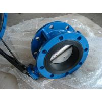 Quality CL150/PN16 CAST IRON GG25/GGG40 NBR/EPDM Rubber Wafer / Double Flanged BUTTERFLY VALVE wholesale