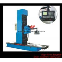Quality Carbon Steel Vertical End Face Milling Machine with Siemens Electric / Mechanical Feeding wholesale