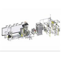 Buy cheap PVDF fluoroplastic single layer sheet extrusion line piezoelectric industry from wholesalers
