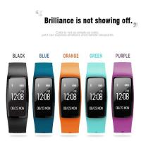 Quality dynamic heart rate smart bracelet  motion tracking and detection of sleep, sedentary reminds, movement patterns  GPS wholesale