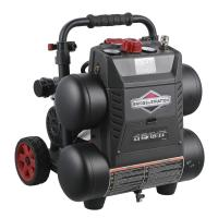 Quality Industrial Briggs And Stratton Air Compressor 4.5 Gallon 17 L Energy Saving wholesale