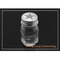 Quality 1oz clear Boston round glass bottle for food / pharmaceuticals packaging , D36mm×H68mm wholesale