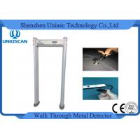 Quality Waterproof Walk Through Metal Detector 24 Zones With High Density Fireproof Material wholesale