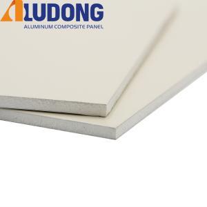 China White Core PE Aluminum Composite Panel ACM Fireproof B1 on sale