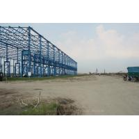 Quality Light Steel Building Material Construction Steel Structure Workshop With Overhead Crane wholesale