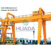 Quality 50 ton double beam gantry crane with operator cabin control,  factory price wholesale
