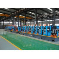 China Galvanized Erw pipe mill and tube making machine on sale