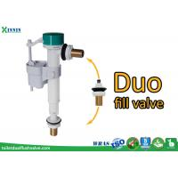 Quality POM ABS Side Entry / Bottom Entry Duo Toilet Fill Valve For Diy Market wholesale