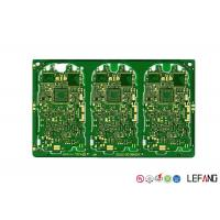 China Gold Plating PCB Remote Control Car Circuit Board Green Solder Mask 1.6 Mm Thickness on sale