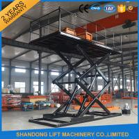 Quality Hydraulic Car Lift China Professional manufacturer car elevator price With CE wholesale