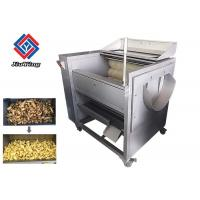 Quality Rhizome Fruit And Vegetable Peeler Machine Carrot Potato Washing  300KG/H Output wholesale