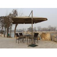 Quality Telescopic Large Rectangular Garden Parasol Screen Printed For Garden Oasis wholesale