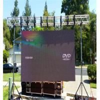 Quality Full Color Outdoor Led Screen Rental , Led Stage Screen Rental Slim Aluminium Panel wholesale