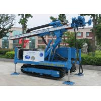 Quality ISO9001 Dth Hammer Anchor Drilling Rig Foundation Piling Machine MDL-135H wholesale