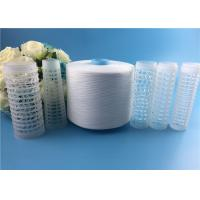 Quality High Strength 100% Virgin Spun Polyester 50/2 Yarn for Sewing Thread Raw White wholesale