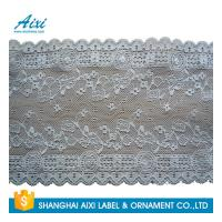 Cheap Gray Women Lingerie Lace Fabric Nylon Stretch Lace African Garment Lace For Dress for sale