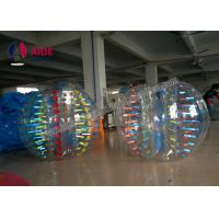 Quality Custom Inflatable Ball Game Giant Human Hamster Ball With Light 1.7m Bubble Suit For Team wholesale