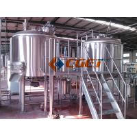 Quality 380V Three  Phase Large Scale Brewing Equipment Brewery Fermentation Tanks wholesale