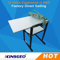 Quality Manual Automatic Wet Dry Textile Testing Equipment Fabric Sample Cutter Machine 150kg wholesale