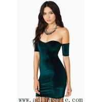 Quality inverted cashmere Slim sexy halter dress chest wrapped skirt clubwear sexy underwear factory M,L YY9 wholesale
