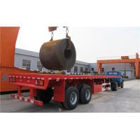 China TITAN 2/3/4 axle flatbed trailer 40/60/t flat deck platform semi trailers for sale on sale