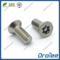 Buy cheap Stainless Steel 304 Security Torx Tamper Resistant Screws product