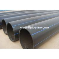China new material 800 mm Diameter wear-resistance polyethylene plastic hdpe pipe manufacturer on sale