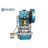 Electric Driven Plastic Card Punching Machine , Business Card Die Cutter Machine