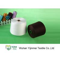Quality High Tenacity Polyester TFO Yarn , Raw White Polyester Sewing Thread wholesale