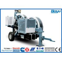 Single Conductor Hydraulic Cable Stringing Equipment Pulling Machine 40kN 4T , Cummins Engine