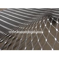 Quality Aviary Mesh,Ferrule type rope mesh for zoo animal enclosure fence wholesale