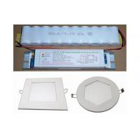 Cheap 2700-6500K 1200-1300Lm Emergency LED Panel Light , led circular panel lights for sale