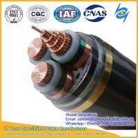 Quality Hot sale 10kV 3x120mm2 XLPE Insulated Steel Tape Armoured Power Cable wholesale