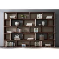 Quality Home Study room Office Furniture American Walnut Wood Combined Bookcase with Shelves by Classic Nordic design wholesale