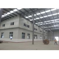Cheap Fire Proof Steel Warehouse Construction 120 * 60 * 9 M For Impulse Sport for sale