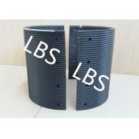 Quality Black Polymer Material Bolted Connection Winch Drum Sleeves wholesale