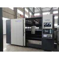China Stainless Steel Laser Metal Cutting Machine Dual Interchangeable Tables Design on sale