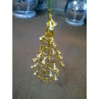 Cheap Hand Craft and Unique Golden Indoor Personalised Christmas Decoration Tree Ornaments for sale