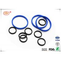 Quality Bouncy Rubber O Rings Flat Washers / Gaskets 30 Degree - 90 Degree Hardness wholesale