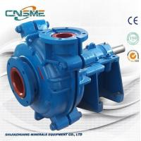 Quality 6 / 4 D - AH Metal Slurry Pump Horizontal Type Heavy Duty  for Quarries Quality Made in China wholesale