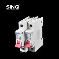 Cheap Breaking capacity reach to 10000 voltage 230v/400V 20a 50HZ single pole small circuit breaker overload protection for sale