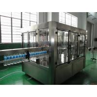 Quality Stable Mineral Drinking Water Production Line Automatic 3000 - 28000 BPH High Capacity wholesale