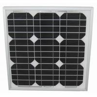 Quality Solid 2.7kg LED Light Solar Panel 25W Stable Maximum Power Voltage 17.9V 1.34A wholesale
