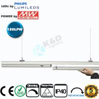 Quality 5ft 70W Linkable LED Linear Lighting High CRI IP54 LED Linear Fixture wholesale