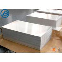 China 610 x 914mm x 1-13mm Magnesium Alloy Strongest Metal For Etching Engraving on sale